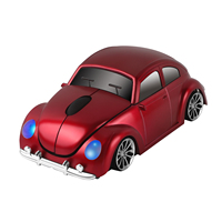 CHYI Wireless Mouse Ergonomico 2.4 Ghz 1600 DPI VW Beetle Tipo 1 Famiglia Auto Carro Veicolo Ricreazionale Mouse Per PC Desktop Laptop