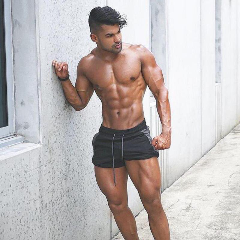 Short Pants men Summer Running Shorts Men Sports Jogging Fitness Shorts Quick Dry Mens Gym Men Shorts Sport gyms in Casual Shorts from Men 39 s Clothing