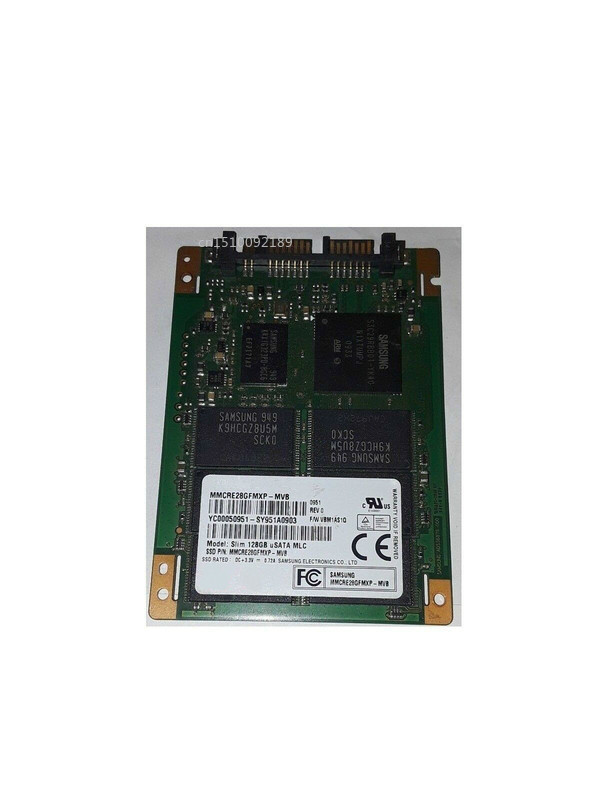 For Original MMCRE28GFMXP MMCRE28GFMXP-MVB Slim 128GB USATA MLC Micro SATA 1.8'' SSD Solid State Disk Test Good  Free Shipping