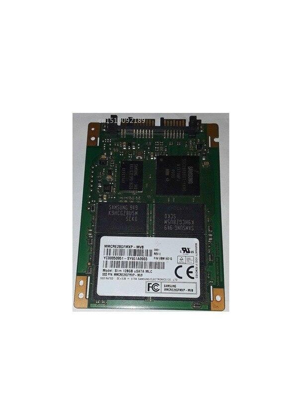 For Original MMCRE28GFMXP MMCRE28GFMXP-MVB Slim 128GB USATA MLC Micro SATA 1.8'' SSD Solid State Disk Test Good  Free Shipping
