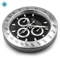 Luxury Design Wall Clock Metal Watch Clock Relogio De Parede Logos Best Gift