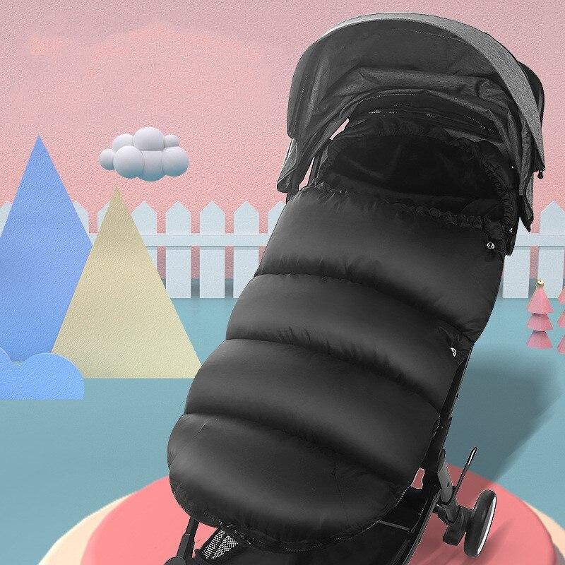 Baby Stroller Waterproof Wind Type Footmuff Newborns Sleeping Bag Winter Outdoor Blanket Saco Carro Bebe Silla De Paseo