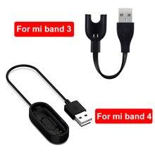 Зарядное устройство TEZER для Xiaomi Mi Band 2 3 4, сменный шнур, USB-кабель для зарядки, адаптер для Xiaomi Mi Band 3, зарядное устройство для смарт-браслета