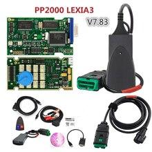 Lexia 3 PP2000 V7.83 для Citroen peugeot с новой Diagbox новейшая версия Lexia3 диагностический инструмент сканер Lexia-3 и кабель