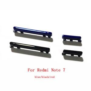 Image 2 - Botão de alimentação para xiaomi redmi 7, botão desligado do lado para baixo
