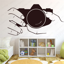 Get more info on the Creative Camera Design Wall Sticker for Bedroom Decoration Removeable Vinyl Decal Self-adhesive Waterproof Home Decor LW579