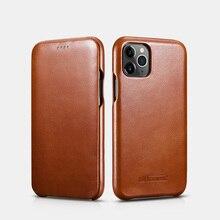 Archiwalne luksusowe oryginalne skórzane oryginalne etui na telefony dla iPhone 12 mini 11 Pro Max Xs Max XR X 8 7Plus pełna krawędź zamknięta klapka