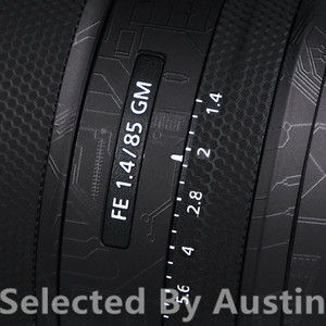 Image 3 - เลนส์รูปลอกห่อฟิล์มProtectorสำหรับSony FE 85 มม.F1.8 Anti Scratchสติกเกอร์