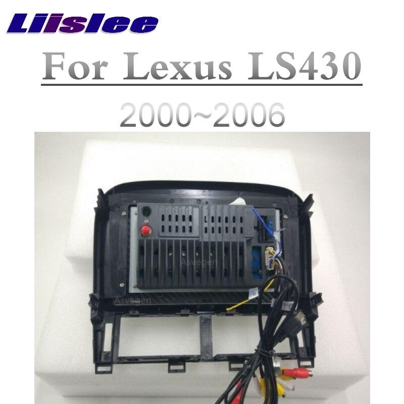 For Lexus LS LS430 XF30 For Toyota Celsior 2000~2006 Liislee Car Multimedia Player NAVI Screen CarPlay Radio Maps GPS Navigation 3