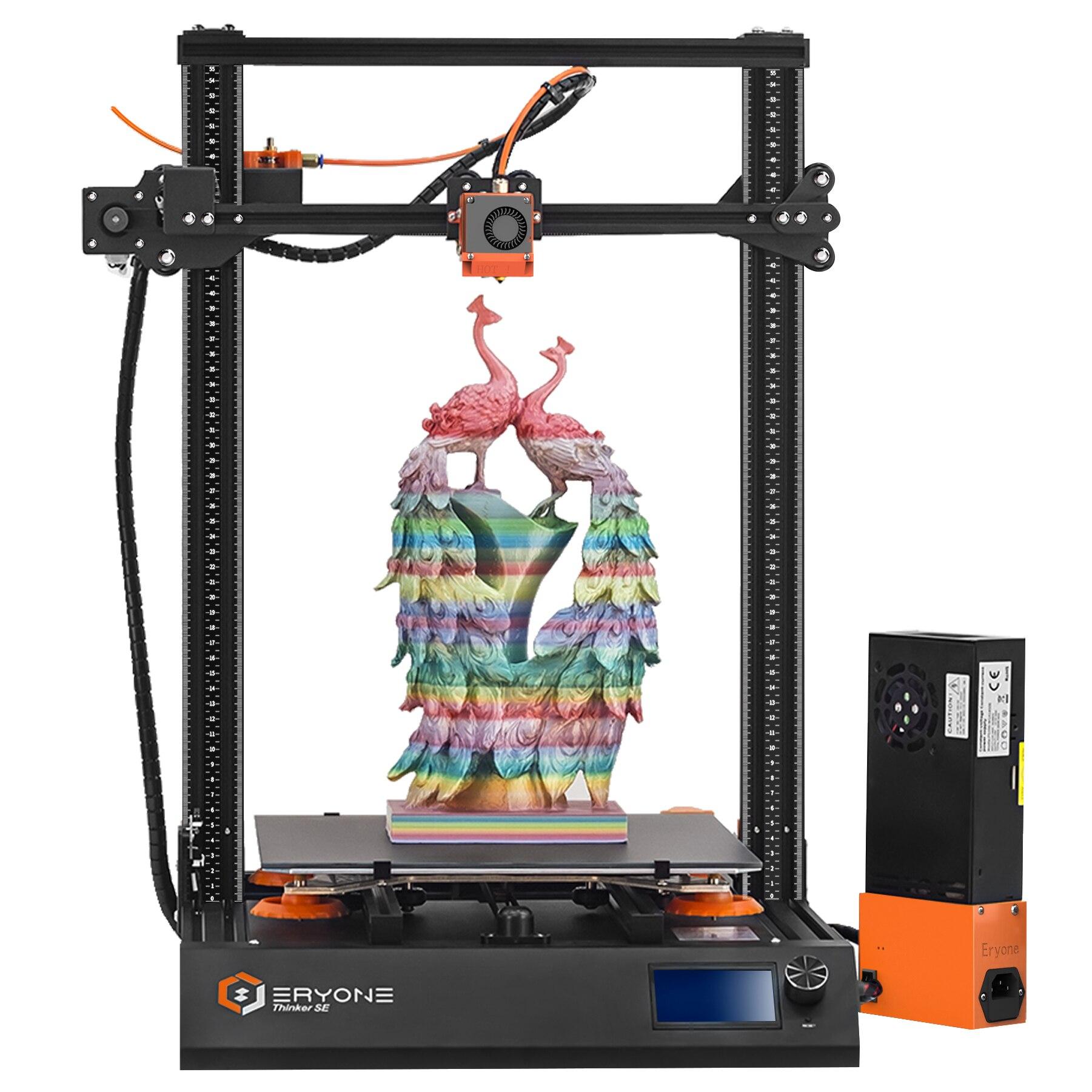 Супертихий 3D-принтер для Thinker SE, стеклянная кровать размером 300*300*400 мм, совместим с датчиком автовыравнивания, бесплатная доставка