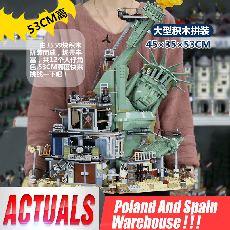 DHL 45014 Movie Toys Series 70840 Welcome To APOCALYPSEBURG Set Building Blocks Bricks Assembly Kids Toys Birthday Gifts