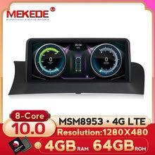 Qualcomm-مشغل DVD للسيارة ، مشغل صوت ستيريو متعدد الوسائط لسيارات BMW X3 F25 و X4 F26 CIC/NBT ، Android 10 ، 8 core ، شاشة ips