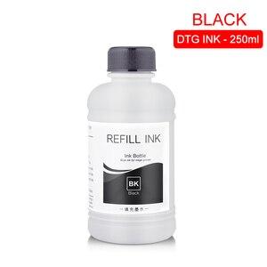 Image 2 - 250ML/Set DTG Ink Textile InK Garment Ink For Epson DX5 DX7 R330 1390 1400 R1900 R2000 F2000 F2100 (BK C M Y White Pretreatment)