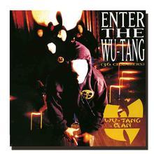 Z288 Wu Tang Clan Рэп Группа хип-хоп музыкальный альбом Шелковый тканевый плакат Настенная картина украшение Room12x12 24x24in