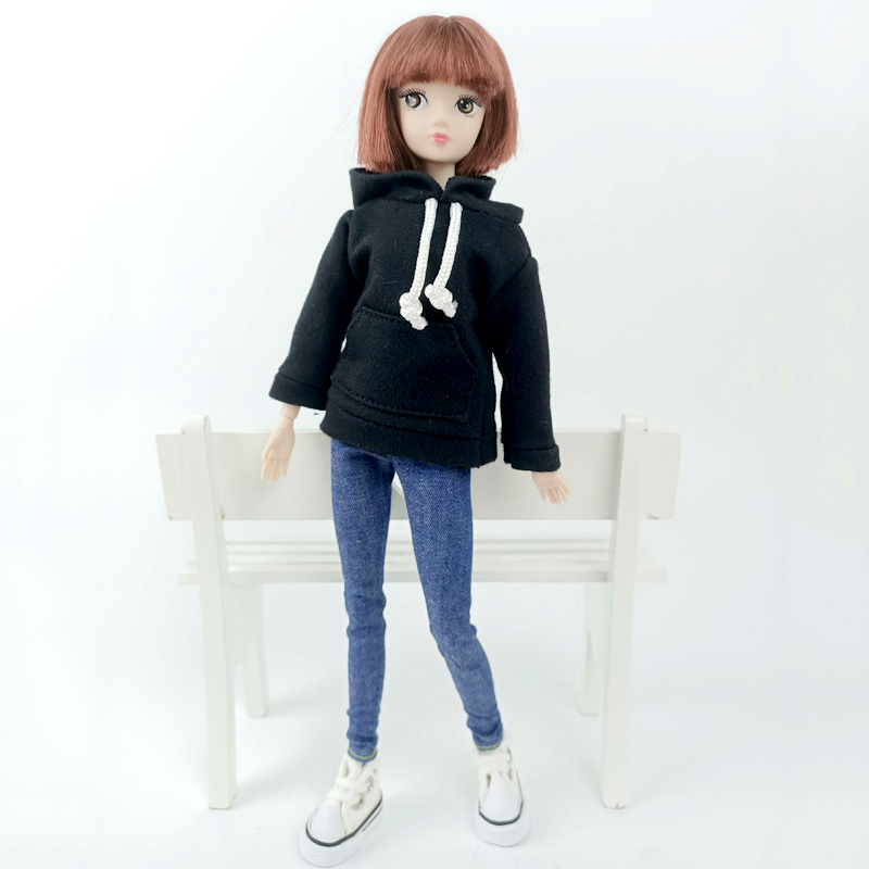 """Fashion Handmade Hoodie For 11.5/"""" 1//6 Doll Coat Outfits Doll Clothes Kids Toy"""