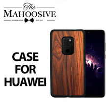 Real Palissander Telefoon Case Voor Huawei P30 P40 Pro P20 Mate 20 Lite X 10 P10 Plus Mate20 Mate10 P 30 P30pro P20pro Mate20pro Cover(China)