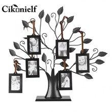 Cikonielf-Cadre Photo en 6 pièces, Cadre familial, Arbre à suspendre, décoration pour la chambre à coucher, la chambre à coucher, le salon