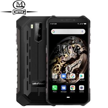 Купить Ulefone Armor X5, 5000 мАч, ip68, ударопрочный мобильный телефон, Android 9,0, 5,5 дюймов, Восьмиядерный, 3 Гб + 32 ГБ, разблокированный, 4G, прочный смартфон