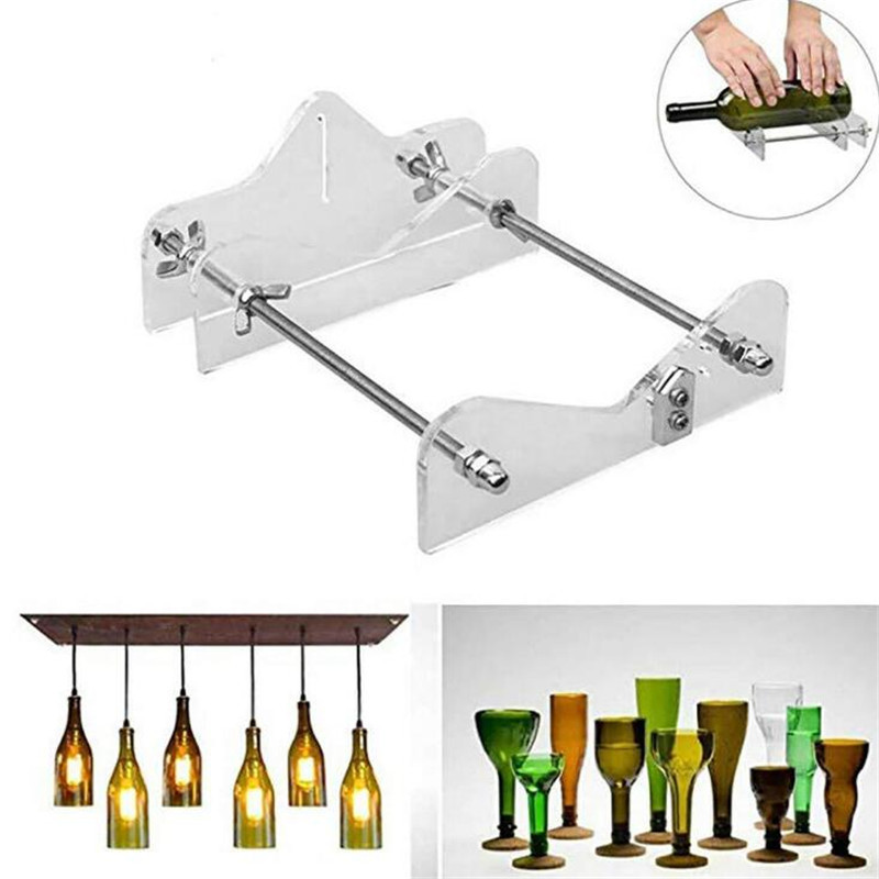 Glass Bottle Cutter Tool Professional For Bottle Cutting Glass Bottle Cutter DIY Cutting Tool Machine Wine Beer With Screwdriver