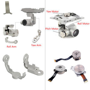 Original DJI Phantom 4/4 Pro Part Gimbal Yam Roll Pitch Arm/Motor Gimbal Camera R P Y Bracket Spare Parts for Repairing