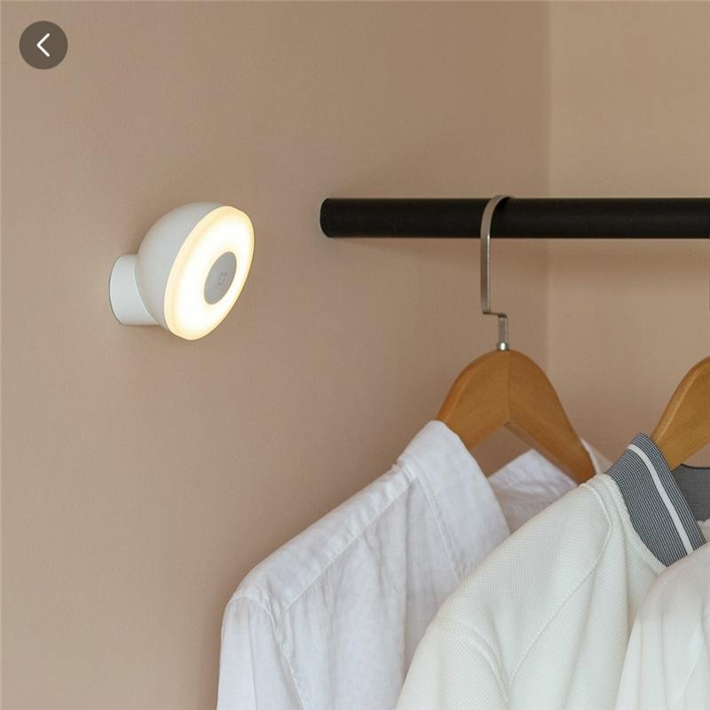 XIAOMI Mijia MJYD02YL Night Light 2 Generation Adjustable LED Brightness Infrared Smart Human Body Sensor With Magnetic Base