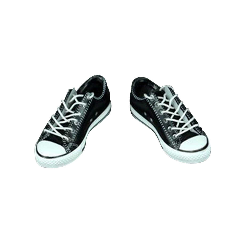 1/6 męskie buty na co dzień płócienne trampki dla 12 ''Phicen Kumik gorące zabawki lalki sportowe i rekreacyjne płótno figurka buty