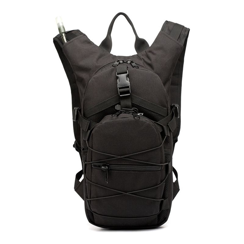 Hydration Bag Sports Runner Hydration Backpack With Bladder(Black)