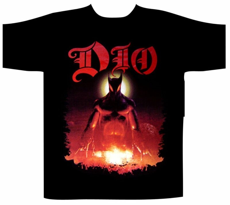 1SIDE 2431Dio Men's Last In Line Black T-Shirt Size S to 3XL