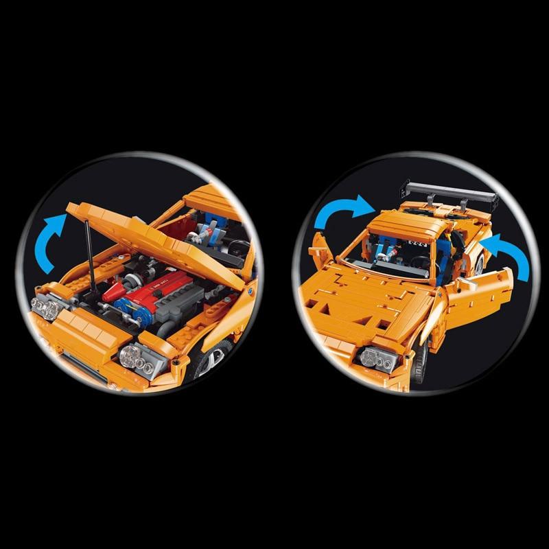 Yeshin QC018 The 1:12 Toyota Supra A80 Racing Car