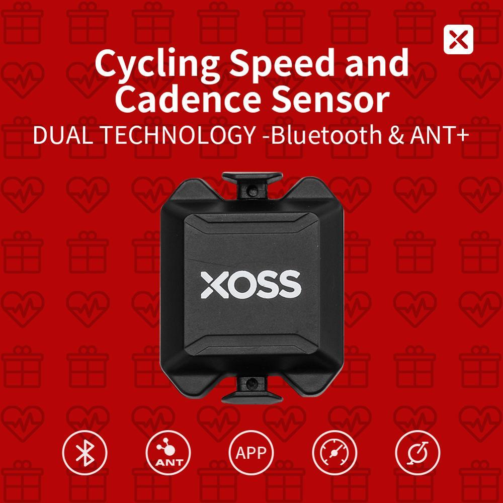 Xoss Fietsen Computer Snelheidsmeter Snelheid En Cadans Ant + Bluetooth Fiets Dual Sensor Voor Igpsport Bryton