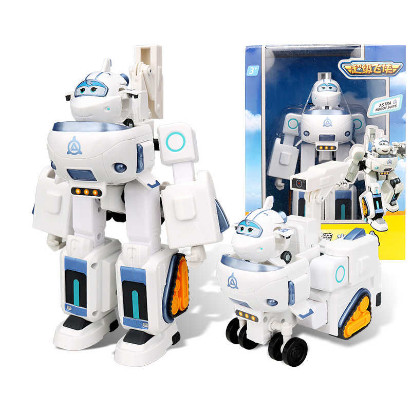 17 centimetri AULDEY Armatura Super-Ali di Deformazione di Salvataggio Robot Action Figures Super Ala Trasformazione Vigili del Fuoco Giocattoli Per I Bambini