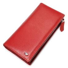 Beth Cat Wallet Women Genuine Leather Coin Purse Luxury Brand Female Long Wallet Womens Lady Card Holder Handy Money Bag недорого