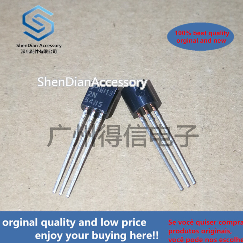 10pcs 100% New And Orginal 2N5485 5485 TO-92 In Stock