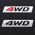 3D Metal Sticker 4WD...