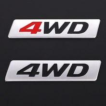 3D 4X4 4WD De Metal Adesivo Emblema Emblema Decalques para Honda CRV Accord Civic Suzuki Grand Vitara Swift Mitsubishi ASX Outlander Lada