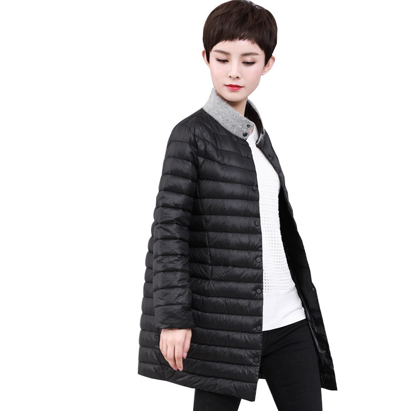 Coat Winter Women Ultra Light Down Coat Korean White Duck Down Jacket Women Puffer Jacket Warm Parka DK-WBDY5571 YY1527