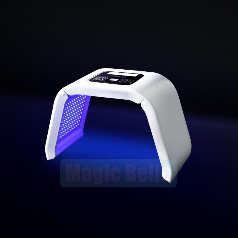 7 colors shrink pores/eliminate face wrinkles/improve oily skin LED light machine - 3