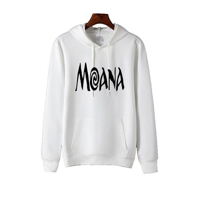Moana, ropa a la moda para Mujer, chaqueta para Mujer, sudaderas con capucha elegantes blancas y negras para Mujer, Sudadera para Mujer, Sudadera con capucha gótica para Mujer