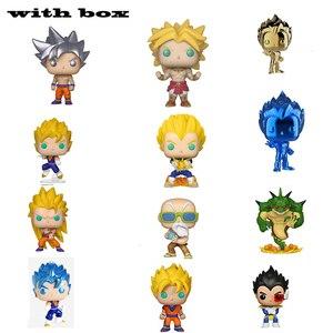 Dragon Ball Super Porunga Saiyan Goku Super Vegeta plating BEERUS Zamasu YAMCHA Vinyl Figure New With Box for kids(China)