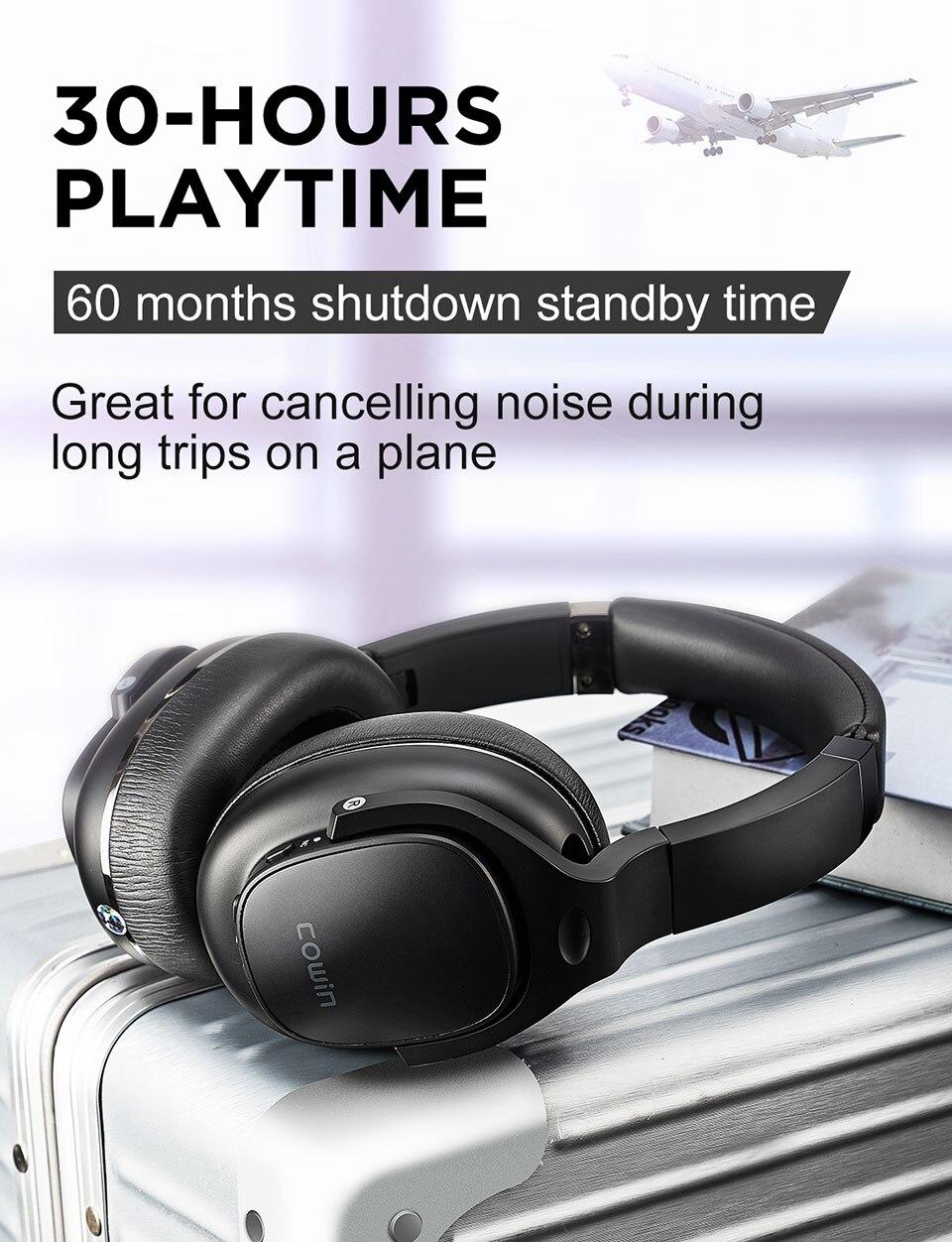 Cowin e9 bluetooth fones de ouvido com