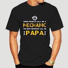 Mecânico importante me chame papa-algumas pessoas um popular tagless camiseta 2815k