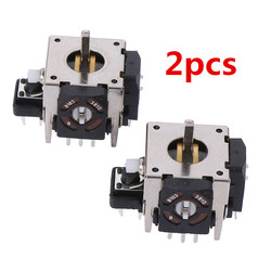2 Pieces Replacement For PS2 3D Joystick Analog Stick For Xbox 360 Controller Tool Parts