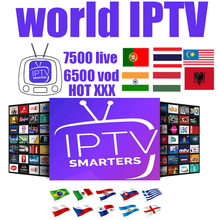 IPTV XXX TV TV Box Eropa Swedia Arab Perancis Italia Swiss IPTV Berlangganan UK Dewasa IPTV M3U Smart TV Ma9 TV Box(China)