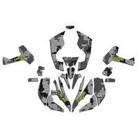 ATV 3M Aufkleber Aufkleber Grafik DECO Kit Für Cam Bin CAM-AM Renegade 500 X/R 800 800r 800x 1000
