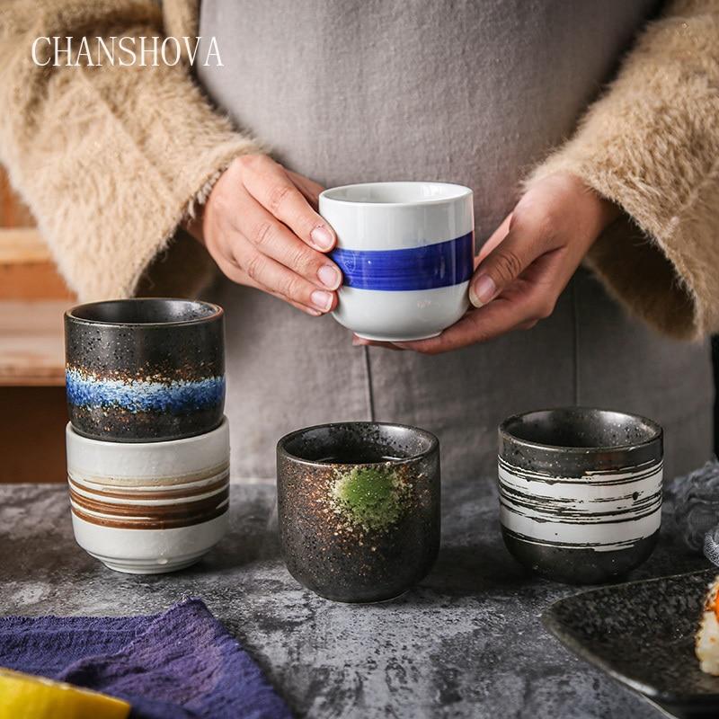 CHANSHOVA 200 мл Традиционный китайский стиль ручная роспись керамическая чашка фарфоровая маленькая и большая кофейная чашка H330