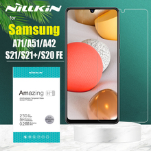 for Samsung S21 Plus S20 FE 5G Tempered Glass Nillkin 9H Hard Safety Screen Protector for Galaxy A72 A52 A42 A32 A12 A71 A51