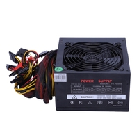 170 260V Max 600W Power Supply Psu Pfc Silent Fan 24Pin 12V Pc Computer Sata Gaming Pc Power Supply For Intel For Amd Computer