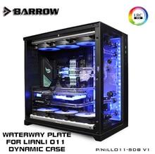 Barrow LLO11-SDBV1, Waterway Boards For Lian Li PC-O11 Dynamic Case, for Intel CPU Water Block & Single GPU Building