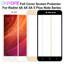 9D Protective Glass on the For Xiaomi Redmi Note 4 4X 5 5A Pro Screen Protector Redmi 5 Plus S2 4X 5A Tempered Glass Film Case