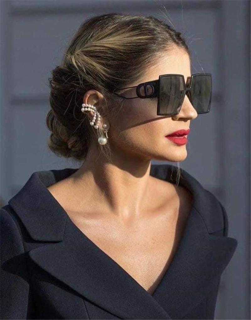 Luxury Brand Square Sunglasses Women Designer Vintage Sun Glasses For Women 2021 Trend Shades Cool Eyewear Female Gradient UV400 (7)